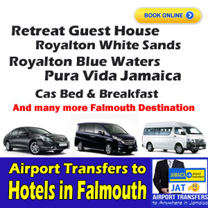 Airport transfers to falmouth hotels