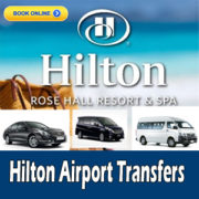Hilton rose hall airport transfers